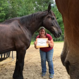 Horse Rescue Founder Wins Kindness Award